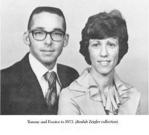 Tommy & Eunice Zeigler, 1973 (Beulah Zeigler Collection)