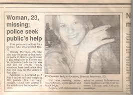newspaper article murder Brenda Martinez