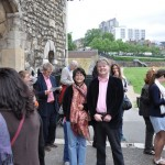 Ian Rivers & Alice de Sturler at the Tower of London, 2013