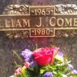 Bill Comeans grave