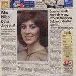 The unsolved murder of Delia Adriano