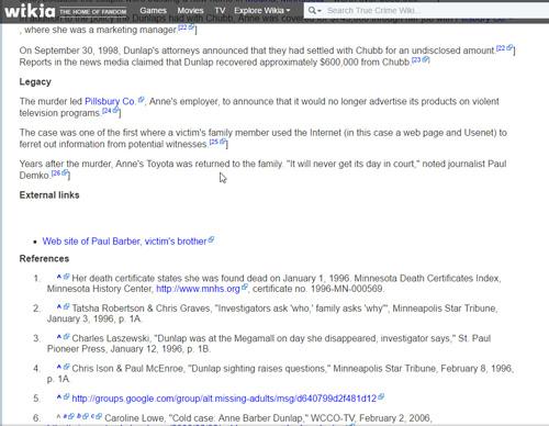 True Crime Wiki 4/Anne L. Barber Dunlap