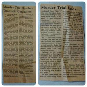 Debra Joyce Bruce trial/Grid AdS