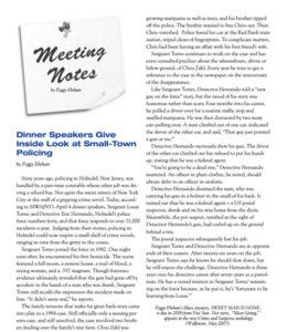 Meeting Notes MWA NY