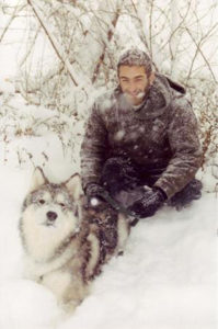 Amos Mortier and his Malamute Gnosis