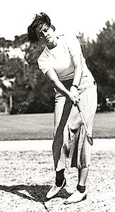 Marion Miley at the USGA